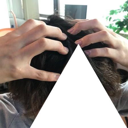 頭皮マッサージ 画像④