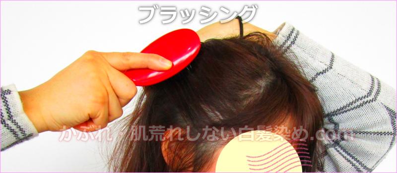 乾燥肌 頭皮の健康 ブラッシング