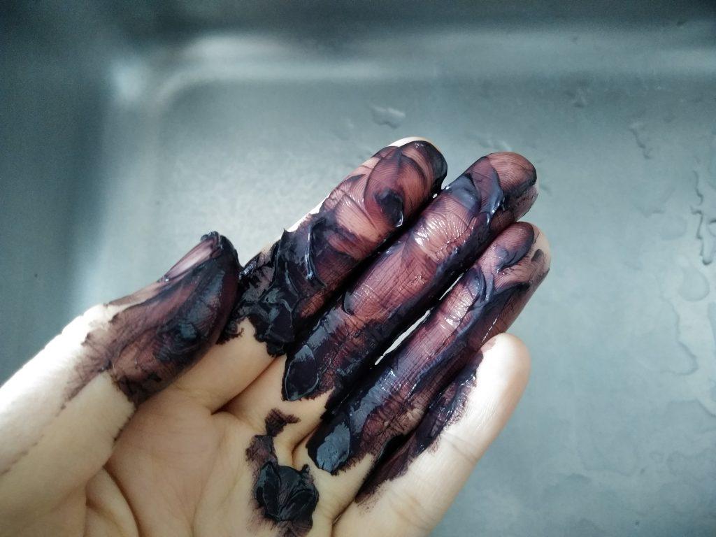 ルプルプ 素手 手袋 落ちない 手の平