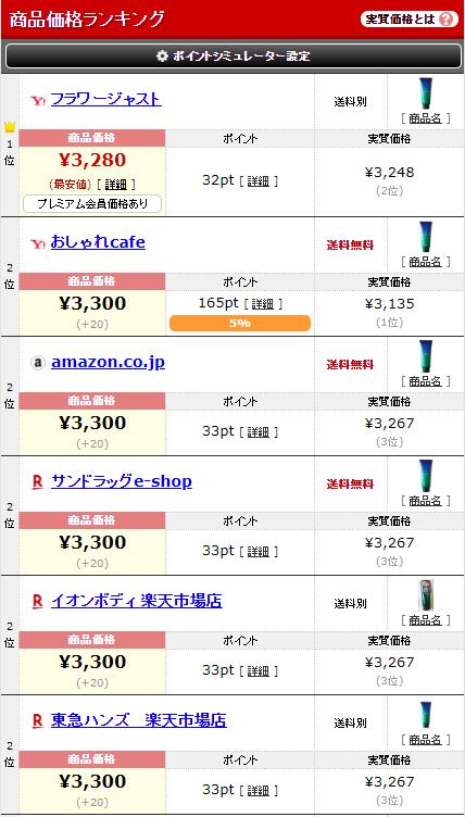公式サイト以外のルプルプの価格は通常購入価格よりも実質価格で見た方が良い